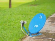 голубой спутник Стоковые Изображения RF