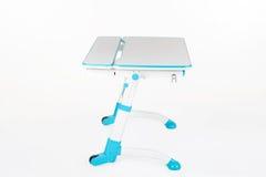 Голубой стол школы Стоковое фото RF