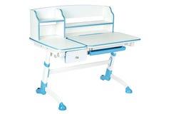 Голубой стол школы Стоковая Фотография