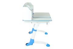 Голубой стол школы Стоковое Изображение