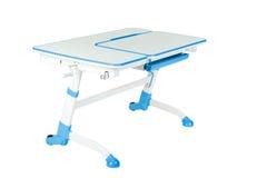 Голубой стол школы Стоковые Фотографии RF