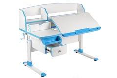 Голубой стол школы Стоковые Фото