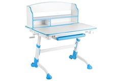 Голубой стол школы Стоковые Изображения RF