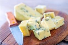 Голубой сыр стоковые фото