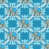 голубой слон Стоковое Изображение