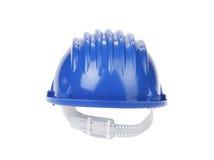голубой трудный шлем Стоковые Изображения RF