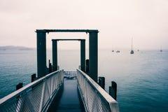 Голубой туман молы Стоковое Изображение