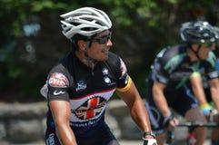 Голубой фестиваль сливы - гонка велосипеда Стоковое Изображение RF