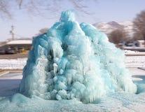 Голубой фонтан в Вейл Орегоне Стоковое Изображение RF