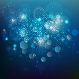Голубой фон Стоковая Фотография