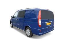 голубой фургон Стоковое Изображение RF