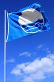 Голубой флаг, остров Закинфа, южная Греция Стоковые Изображения