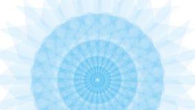 Голубой цветок на предпосылке Уайта Стоковые Фото