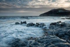 Голубой час на заливе браслета Стоковое Фото