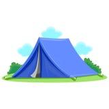 голубой шатер Стоковые Фотографии RF