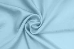 голубой шелк ткани стоковые фото