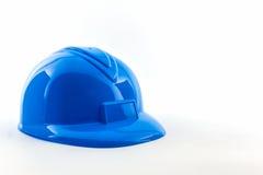 Голубой шлем конструкции Стоковые Фото