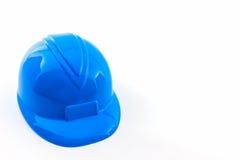Голубой шлем конструкции Стоковые Фотографии RF