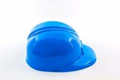 Голубой шлем конструкции Стоковое Фото