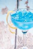 Голубой curacao Стоковые Фотографии RF