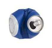 Голубой Recycle может стоковые фото