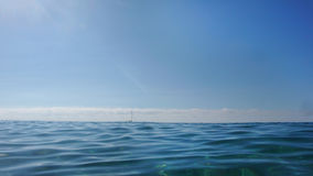 голубой seascape Стоковые Фото