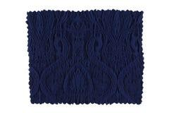 голубой swatch ткани Стоковое фото RF