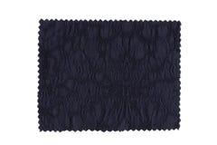 голубой swatch ткани Стоковая Фотография