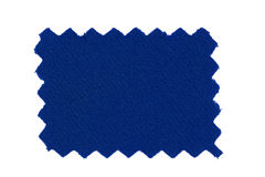 голубой swatch ткани Стоковые Изображения