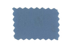 голубой swatch ткани Стоковая Фотография RF