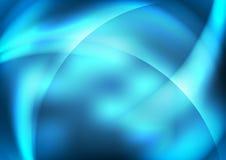 Голубые абстрактные предпосылки Стоковая Фотография RF