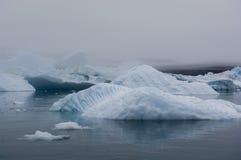 Голубые айсберги Narsarsuaq Стоковые Фото