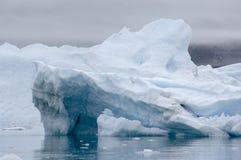 Голубые айсберги Narsarsuaq Стоковое Изображение