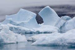 Голубые айсберги Narsarsuaq Стоковые Изображения