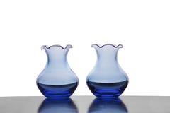 голубые вазы Стоковое Изображение RF