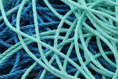 голубые веревочки Стоковое Изображение
