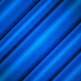 Голубые волны шелка Стоковые Изображения