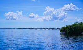 Голубые воды стоковое изображение rf