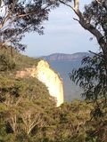 Голубые горы в солнце Стоковые Изображения RF