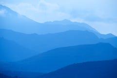 Голубые горы Корсики Стоковое Фото