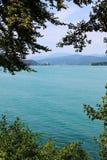 голубые горы озера Стоковые Изображения RF