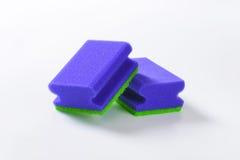 Голубые губки кухни Стоковое Изображение