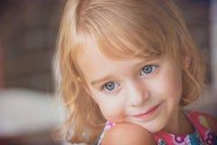 голубые глазы Стоковые Фото