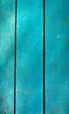 Голубые деревянные доски, текстура Стоковая Фотография