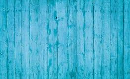 Голубые деревянные планки Стоковая Фотография RF