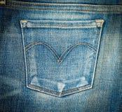 голубые джинсы предпосылки славные Стоковое Фото