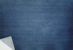 голубые джинсы предпосылки славные Стоковая Фотография RF