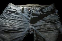 голубые джинсы старые Стоковое Изображение RF