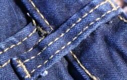 Голубые джинсы Стоковые Изображения RF