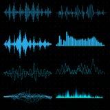 голубые звуковые войны Стоковые Фотографии RF